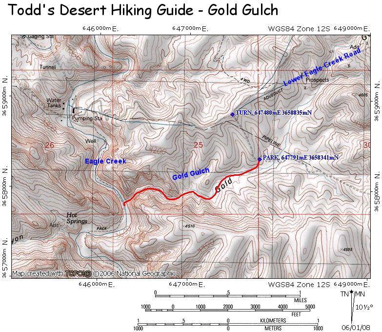 Arizona Gold Swimming: Gold Gulch