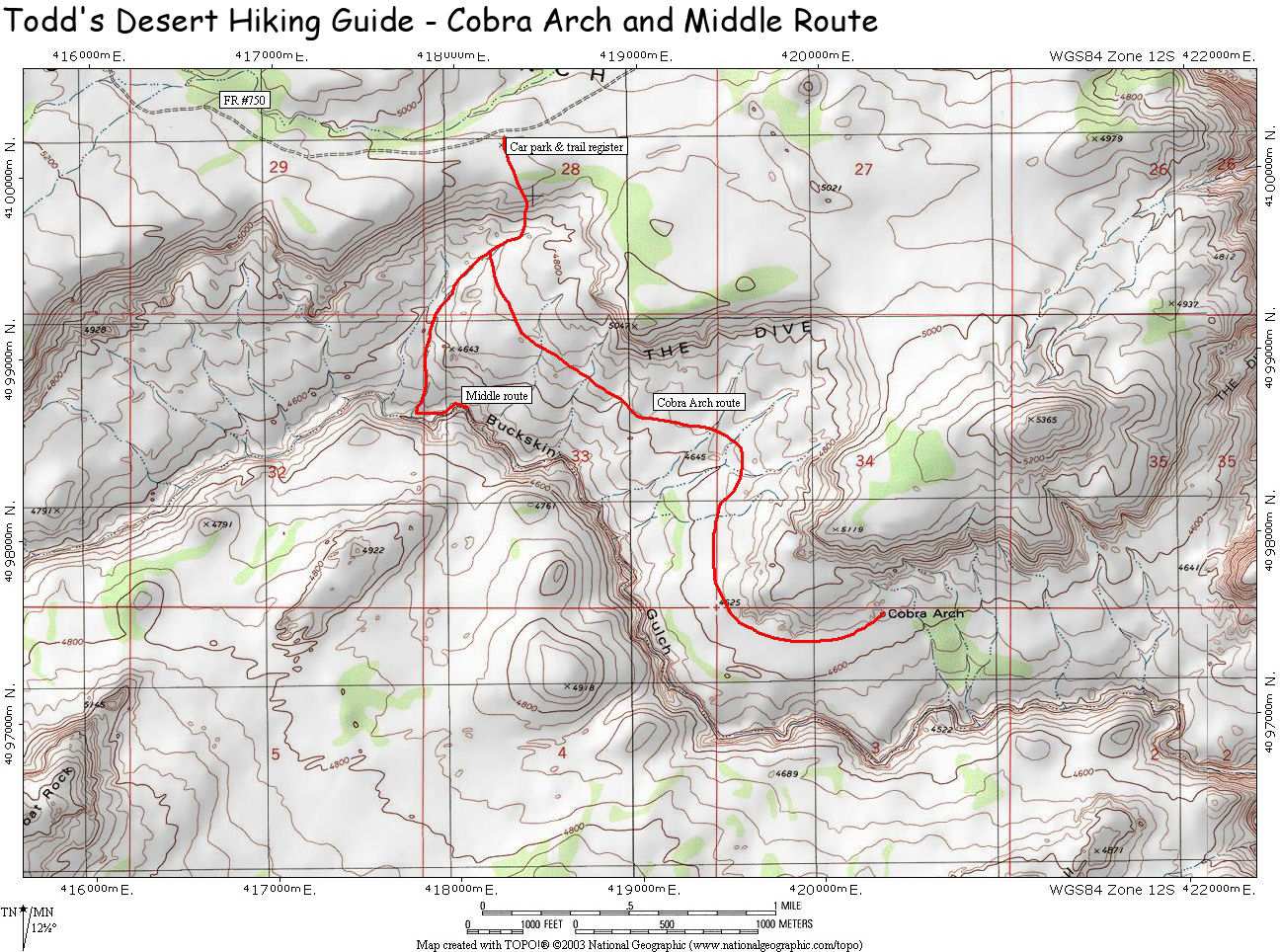 Middle Trail : Climbing, Hiking & Mountaineering : SummitPost