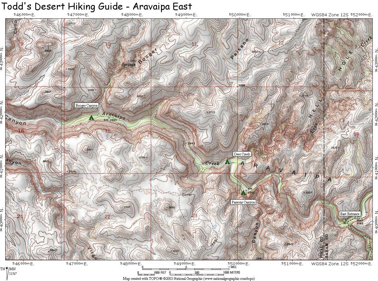 Aravaipa Canyon on canyons park city ski map, park city lift map, sedona arizona hiking trails map, canyons resort village map, canyons ski trail map, the canyons ski resort, the canyons park city, grand canyon hiking map, into the wild trail map, utah canyons map,